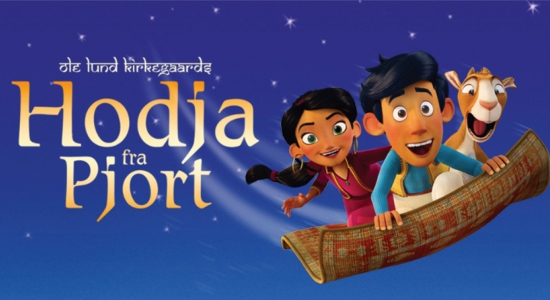 Multimediestudiet has been responsible for the audio description of the Danish family movie ¨Hodja fra Pjort¨.
